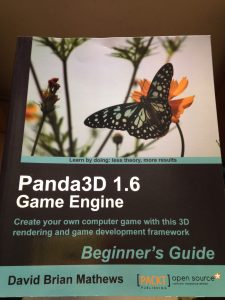 Panda3D game engine book cover